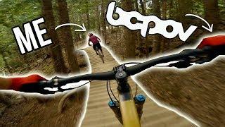 BCPOV follows ME down some more Whistler Bike Park Blue Trails