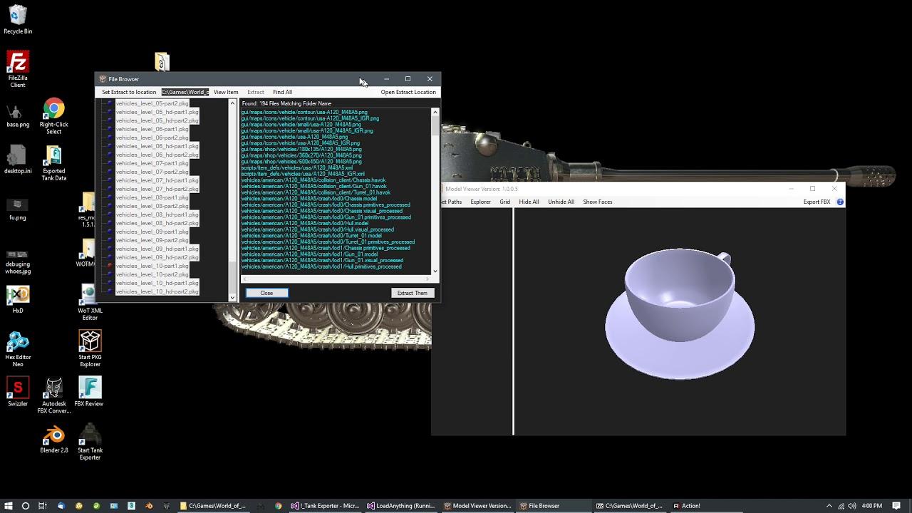 PKG File Explorer tool  - World of Tanks Mods & Addons - World of