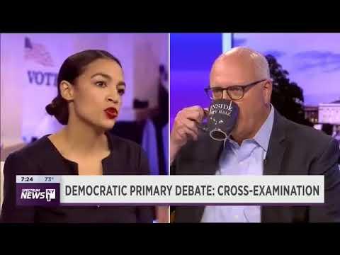 Alexandria Ocasio Cortez and Joe Crowley Debate   June 15th, 2018