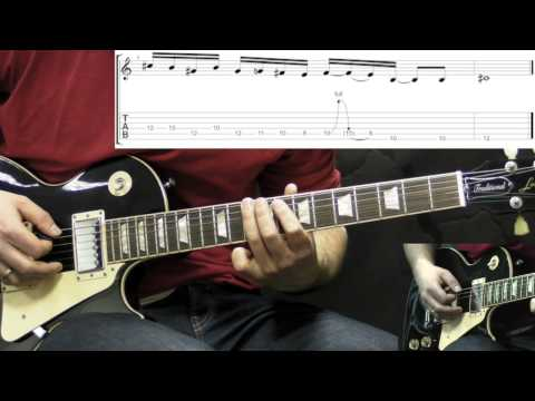 Alice In Chains - Sunshine - Solo Lesson (with Tabs)
