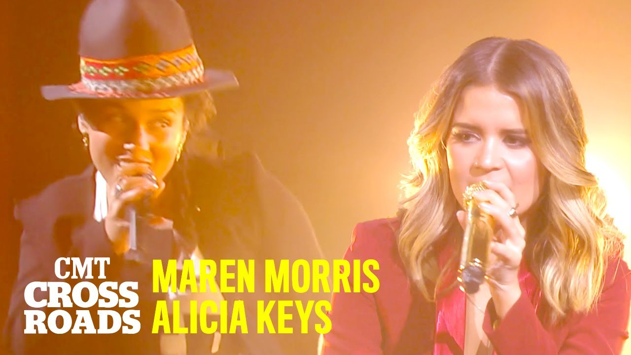 Maren Morris & Alicia Keys 'Rich'   CMT Crossroads