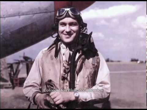 Colonel Don Blakeslee Interview - Fourth Fighter Group