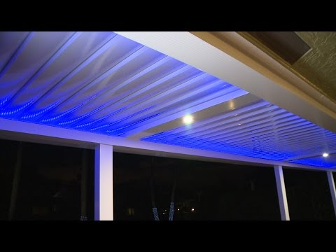 The power of a pergola! Powered Louver Roof Systems!