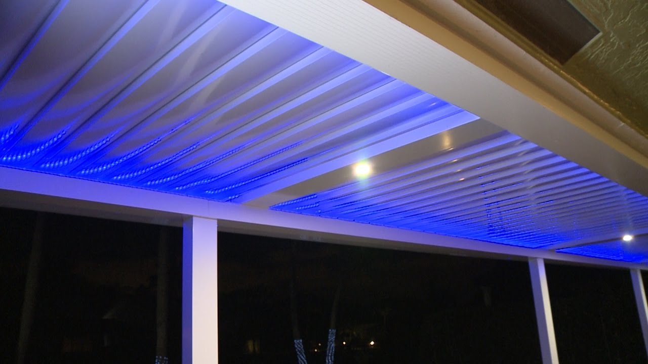 The Power Of A Pergola Powered Louver Roof Systems Youtube