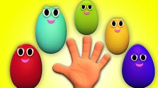 удивление яйца палец семьи   русский семейный палец   Surprise Egg Family