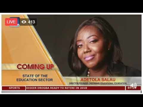 State of educational sector- Sunrise Daily Show Channels TV  November 15th 2017