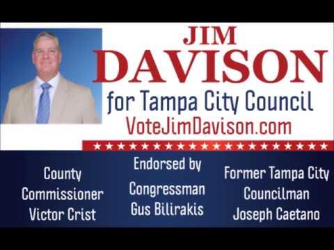 Vote Jim Davison for Tampa City Council