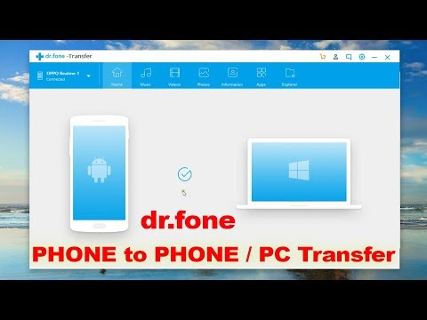 Best Phone To Phone / PC Transfer Software! (dr. Fone -Transfer)