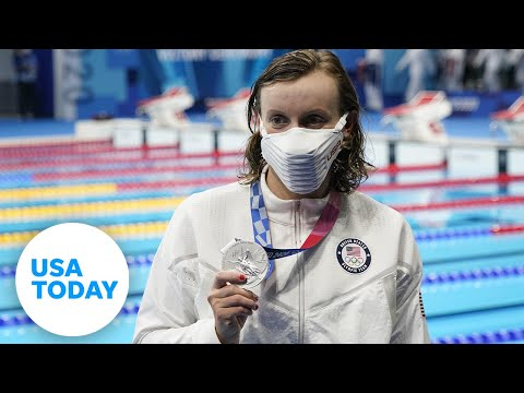 Katie Ledecky gets silver, two US golds in skeet shooting, Simone Biles is back Tuesday | USA TODAY