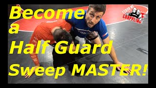 The BEST Half Guard Sweep There is!