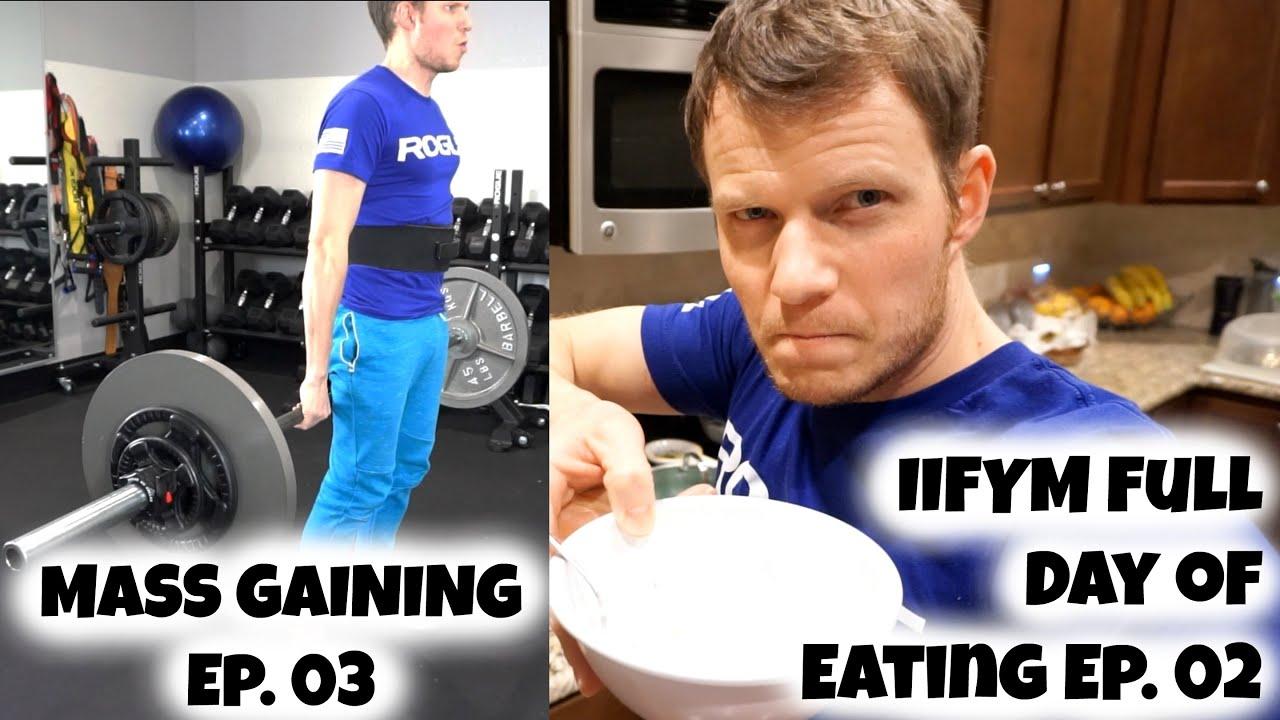 Mass gaining ep. 03 rogue fitness garage gym leg workout iifym