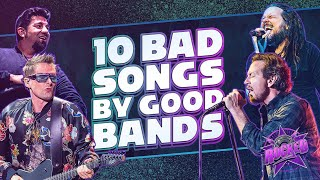 10 Bad Songs By Good Bands   Rocked chords   Guitaa.com