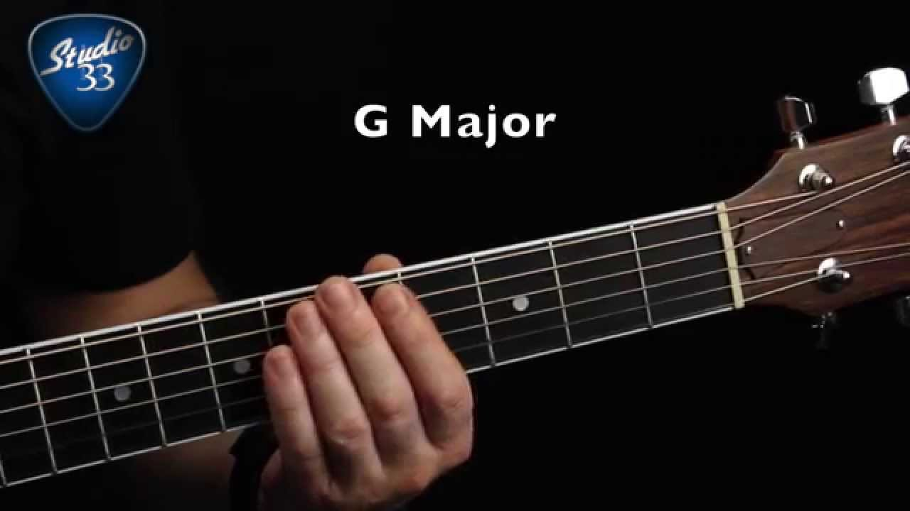 beginner guitar chords part 2 how to play g major chord youtube. Black Bedroom Furniture Sets. Home Design Ideas