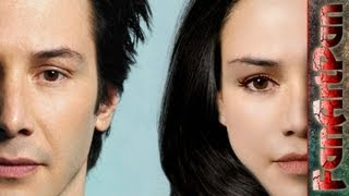 �������� ���� Экстремальная ретушь лица в фотошопе. Превращаем лицо Киану Ривза в лицо девушки. Speed Art ������
