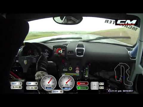 2017 Pirelli GT3 Cup Porsche Cayman GT4 Clubsport race at Thunderhill Raceway Park (2 of 16)