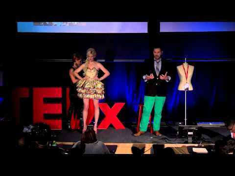 Fashion reinvented and recycled: Matthew Richmond at TEDxUMDearborn