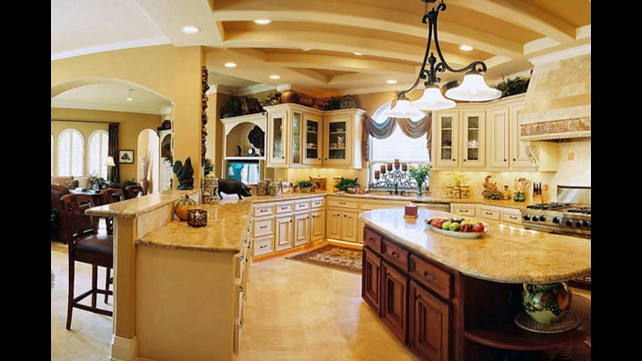 Beautiful kitchen designs youtube for Stunning kitchen designs