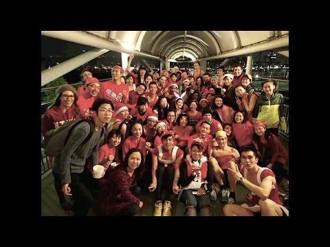 2014 TNTH3 Red Dress Run (2014.12.26)