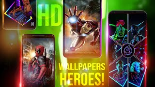 4k Hd Wallpapers Change Mobile  Look | All Mobiles Superheroes Wallpapers