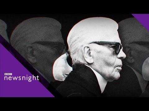 Karl Lagerfeld: Ex-Vogue Editor Alexandra Shulman Remembers The Fashion Icon - BBC Newsnight