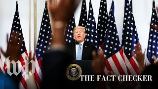 Fact-checking President Trump's statements about sexual misconduct allegations | Fact Checker