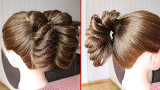 How To: Chopstick Cage Braid Ponytail Tutorial | Cute Hairstyles 2019 | HairStyles Official
