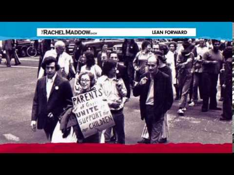 Rachel Maddow on the story of PFLAG (Parents, Families and Friends of Lesbians And Gays) 11.01.2013