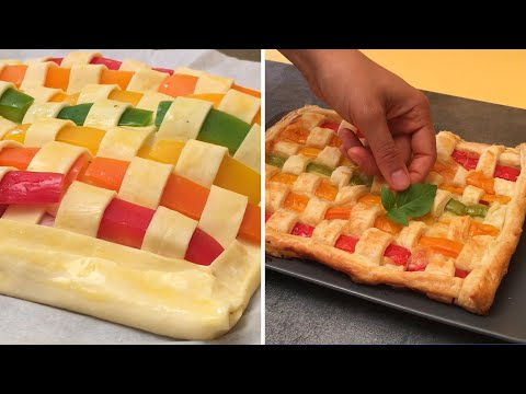 tarte-arc-en-ciel-🌈-les-enfants-vont-adorer-leurs-légumes-🤜-🧒🥕