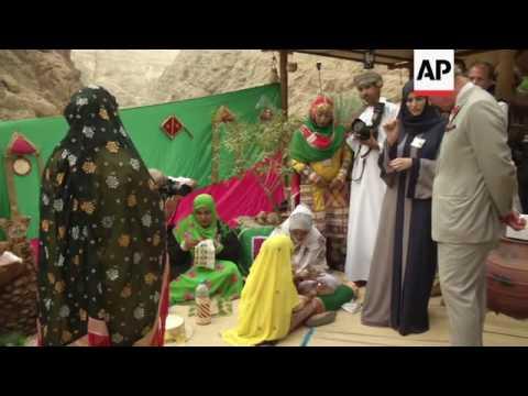 Charles visits ancient Oman village and nature rserve