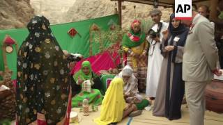 Charles visits ancient Oman village and nature rserve