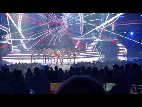 Crazy Fan Storms Stage at Britney Spears