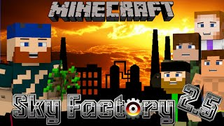 Minecraft | SkyFactory 2.5 | #2 EVERYTHING GOES WRONG!