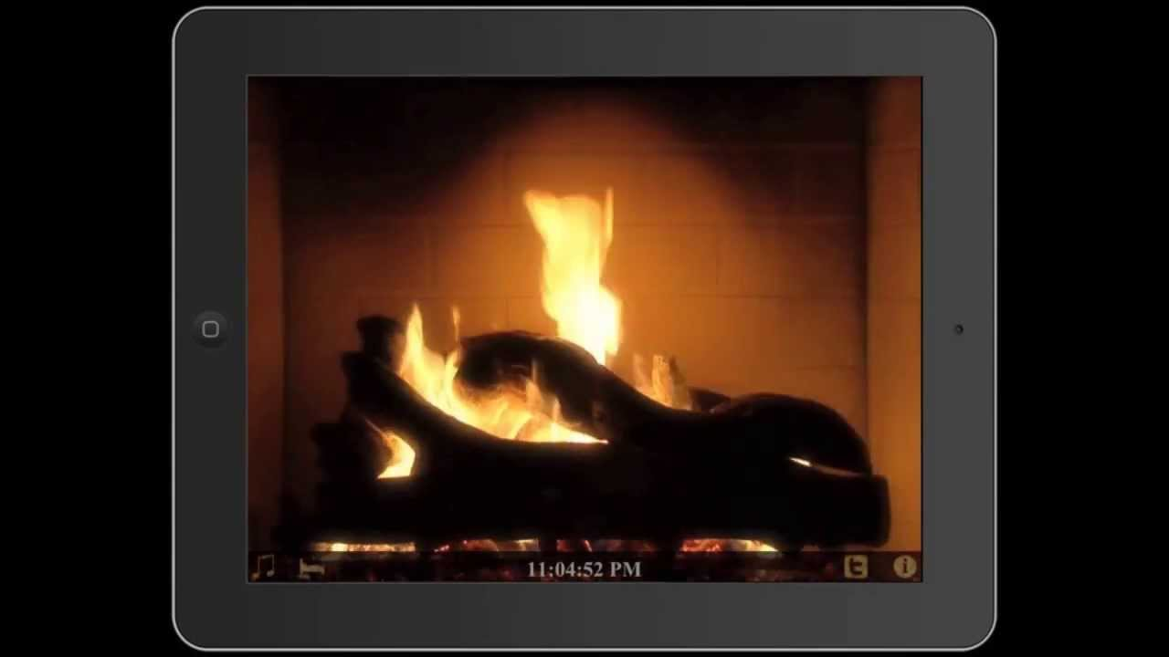 Fireplace App For iPad & iPhone (Also Apple TV) - YouTube
