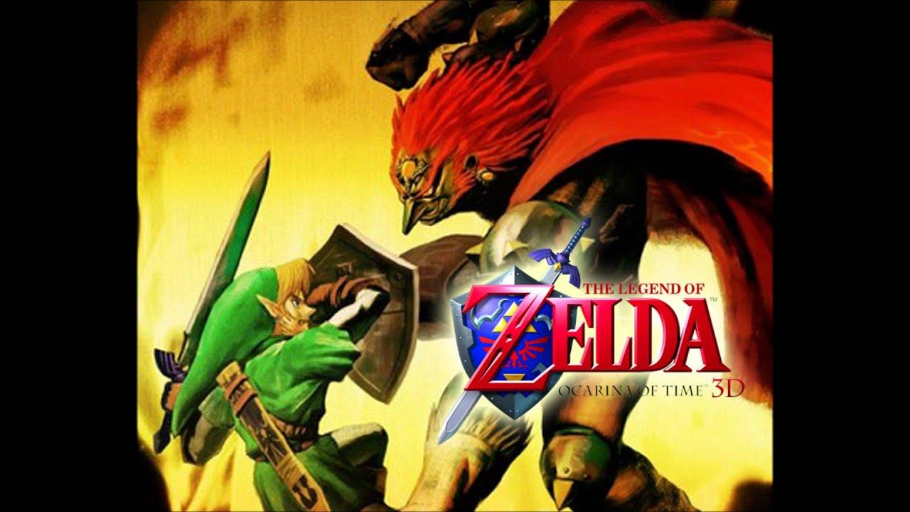 the legend of zelda ocarina of time 3d soundtrack end