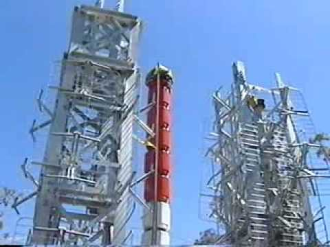 ATV-10 Melbourne Digital Transmission Antenna Installation 20th December 2000