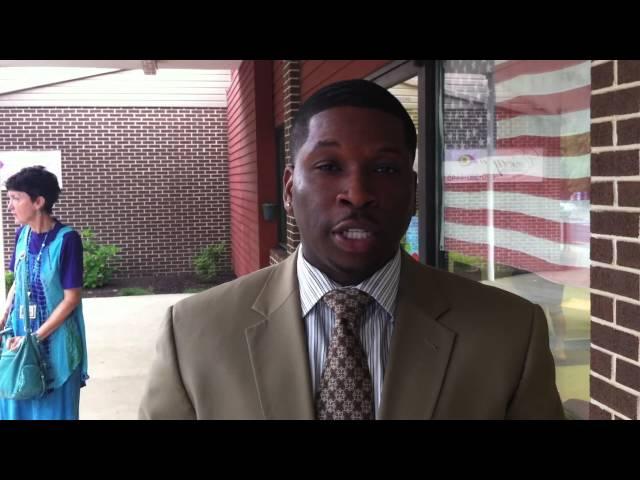 Attorney Shaka Johnson following Deviane Scott hearing