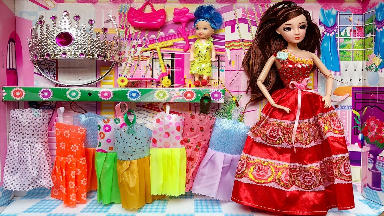 Váy búp bê Barbie - bandochoi.net