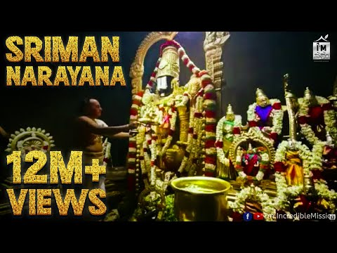 Sriman Narayana | Devotional 4K Video Song | Feat. Nithyasri Mahadevan