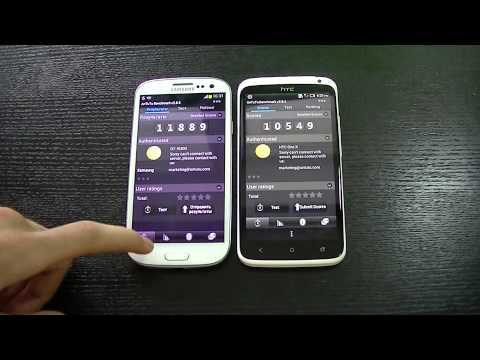 Сравнение HTC One X и Samsung Galaxy SIII