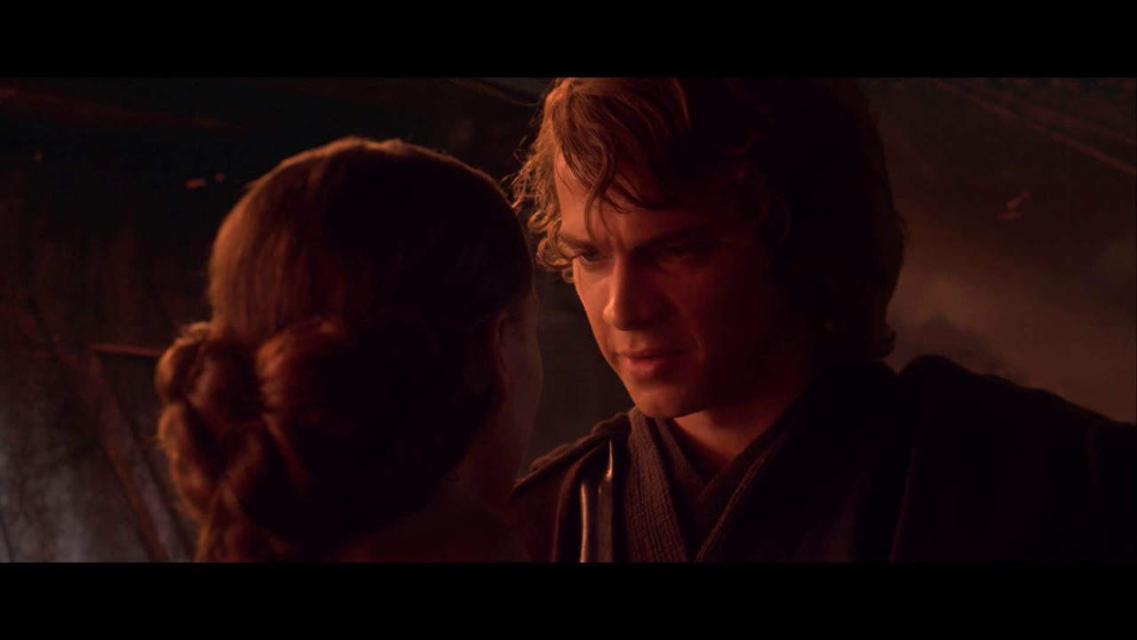Star Wars Episode Iii Padme S Plea Anakin S Force Choke Youtube
