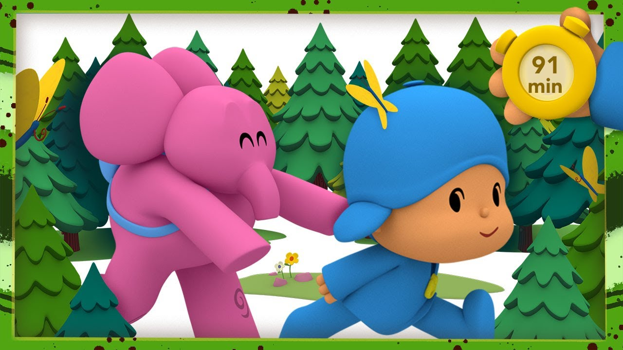 🌾 POCOYO AND NINA - Country vacation [91 min] | ANIMATED CARTOON for Children | FULL episodes