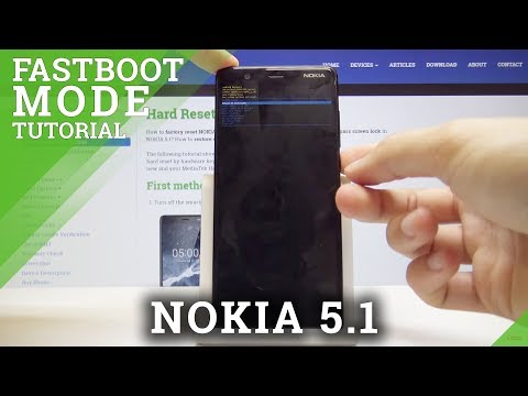 How To Activate Fastboot Mode In NOKIA 5.1 - Re-flash Partitions