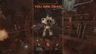 Space Hulk Deathwing Beta Heavy weapon specialist gameplay