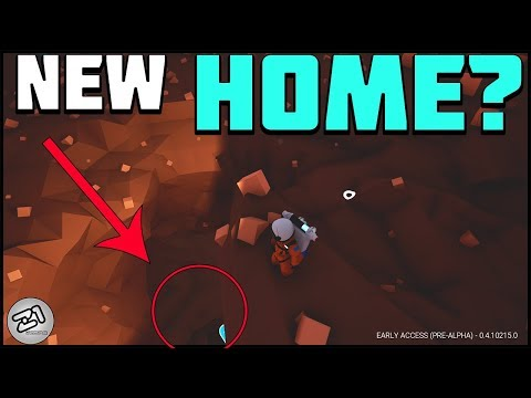 Digging a Hole? Starting the MINE BASE ! Lets Play Astroneer update 215 Gameplay Z1 Gaming