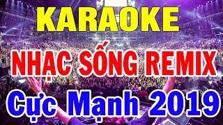 Karaoke Nhạc Sống Remix Bass Cực Mạnh | Lk Bolero Trữ Tình Remix Mới Đét Căng Đét | Trọng Hiếu