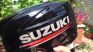 Видео обзор лодочного двигателя Suzuki DF 6 AS