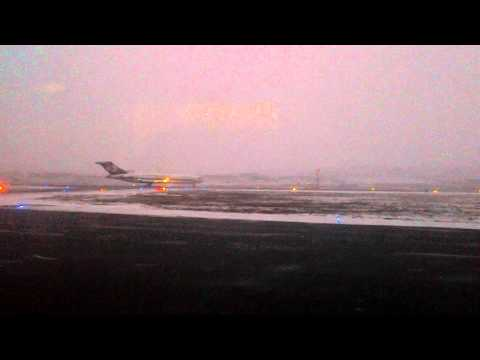 727-200f takeoff of cargojet 8760 from yfb en route to ymx reg c-gcjz