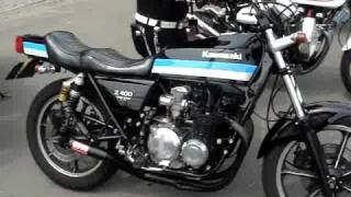 KAWASAKI Z400FX  モリワキショート管 thumbnail