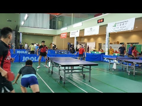2017 LA Open Table Tennis - Tao Wenzhang/Victor Liu vs Bob Chen/Nikil Kumar