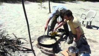 Famille Sylvain, Éric Claprood et Pascal Lemay - Voyage de pêche 2012 - Réservoir Gouin